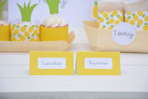 Letreros para comida
