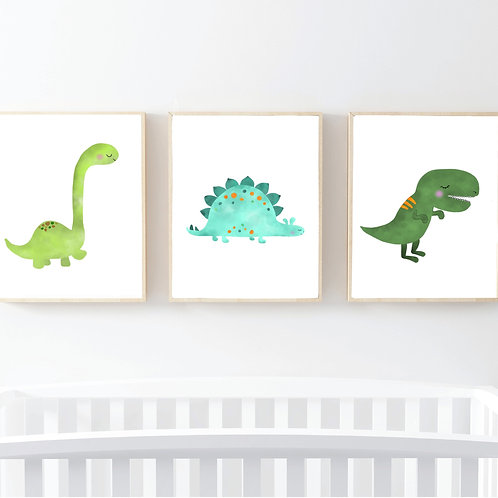 Láminas dinosaurios