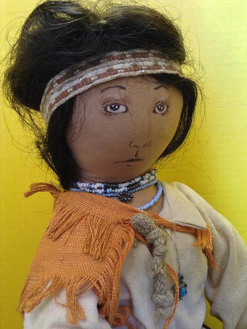 American Indian Rag Doll