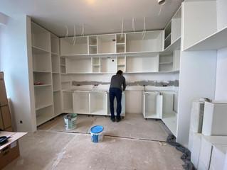 Установка мебели по индивидуальным размерам