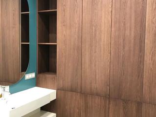 Мебель из МДФ в натуральном шпоне ценных пород древесины.