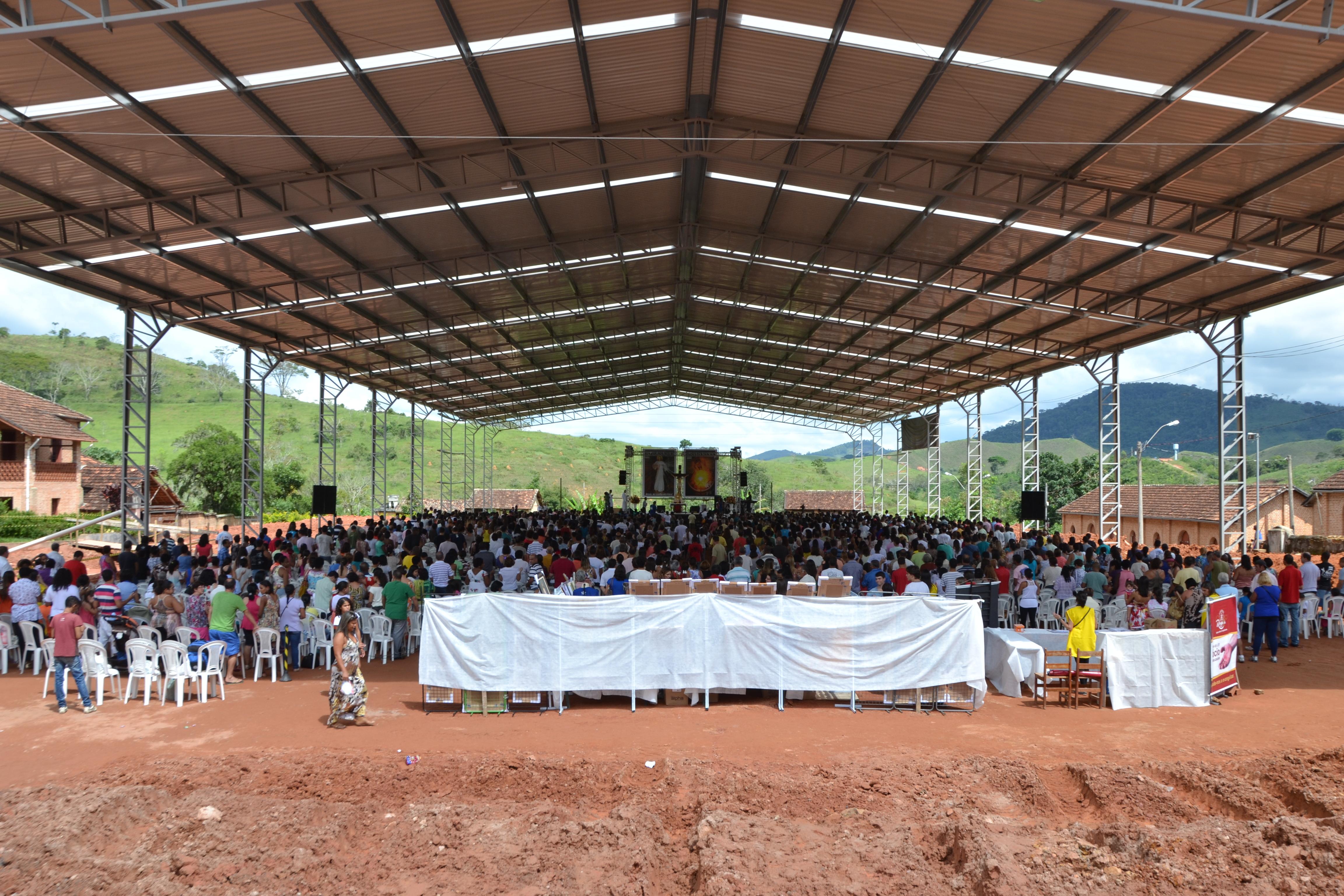 Inauguração do Centro de Evangelização