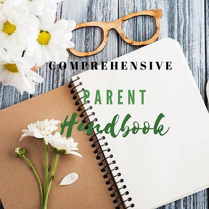 Custom Comprehensive Parent Handbook