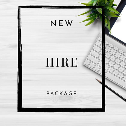 Employee Hire Packet