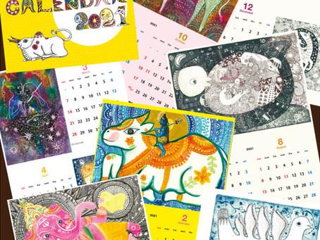 2021年カレンダー&新作てぬぐいができました!