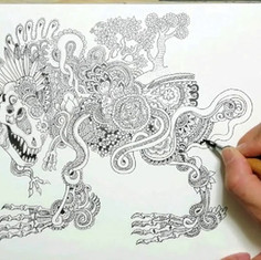 ジャングル恐竜