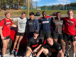 Rugby Dawgs Help Clean Up Athens