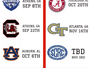 2018 Fall Schedule Announced