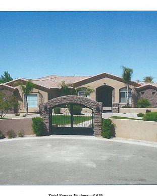 custom luxury tuscan style home in arizona
