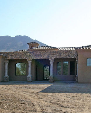 luxury custom home in Arizona