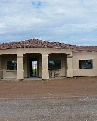 luxury tuscan style custom home in Arizona