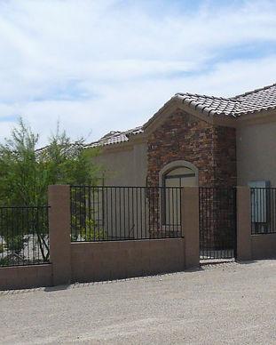 stone front luxury home in Arizona