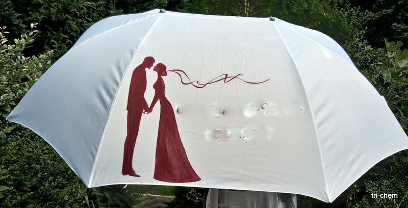 Hochzeitsschirm mit Softly Flo