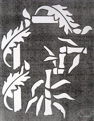 Oriental Leafy Borders