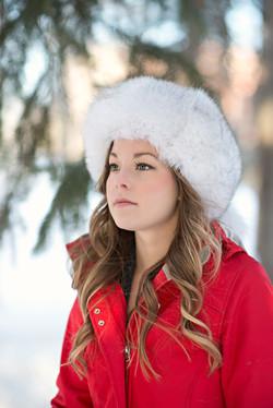 Blue Fox Fur Hat 10