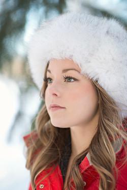Blue Fox Fur Hat 9