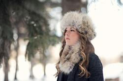 Coyote Fur Hat Coyote Fur Headband