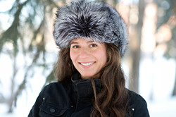 Silver Fox Fur Hat 3