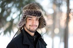 Raccon Fur Hat 3