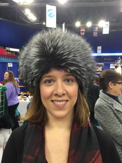 Silver Fox Headband - show