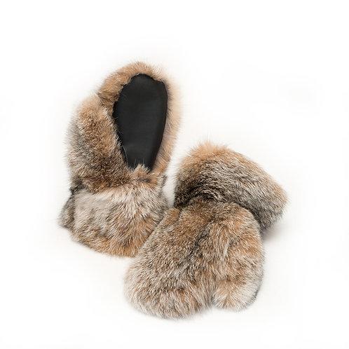 Lynx Fur Mitts - Ladies