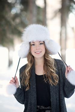 Blue Fox Fur Hat 5