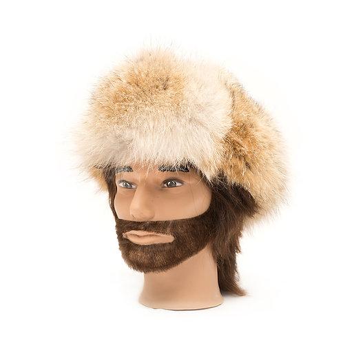 Coyote Fur Hat - All Fur