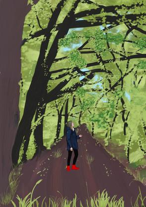 Lara Heyde – Mädchen allein im Wald