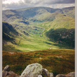 Looking over from Branstree in the north-east fells.