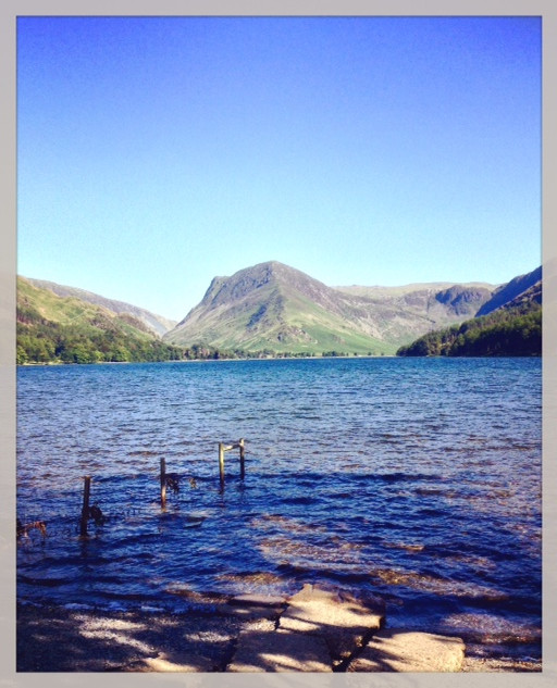 Fleetwith Pike at the other end of Buttermere.