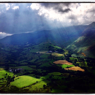 Newlands valley from Catbells.
