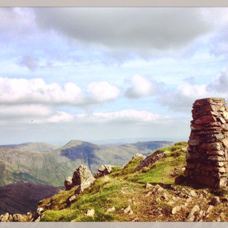 Red Screes summit.