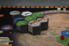 "Organizer na oryginalne heksy do gry ""Terraformacja Marsa"""