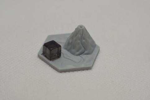 Heks 3D wulkan