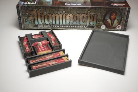 Organizer na zwłoki do gry Abominacja: Dziedzictwo Frankensteina