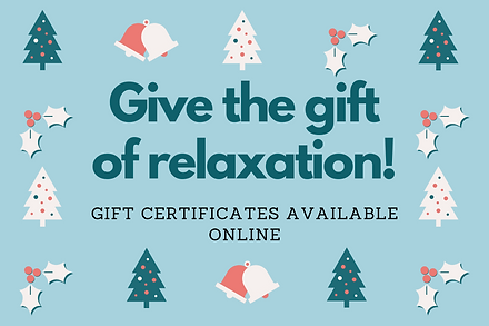 Gift certificate available online