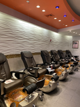Westport Pedicure Chairs with Partitions