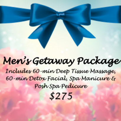 Men's Getaway Package