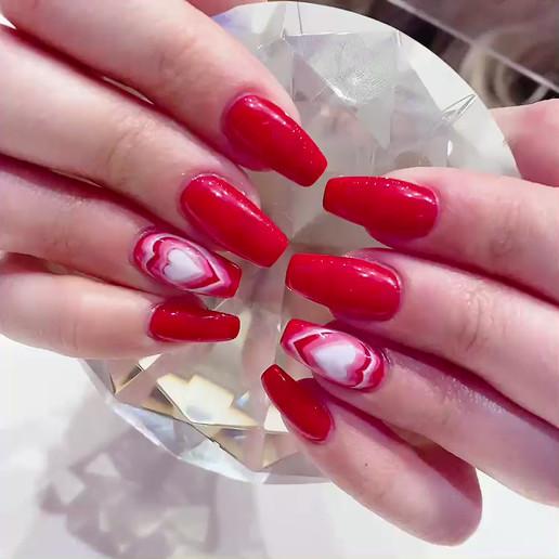 Valentines Day Manicure