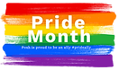 Pride Month 2021 Flag for LGBTQ Community Support