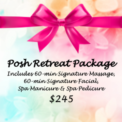 Posh Retreat Package