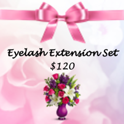 Eyelash Extension Special Gift Certificate