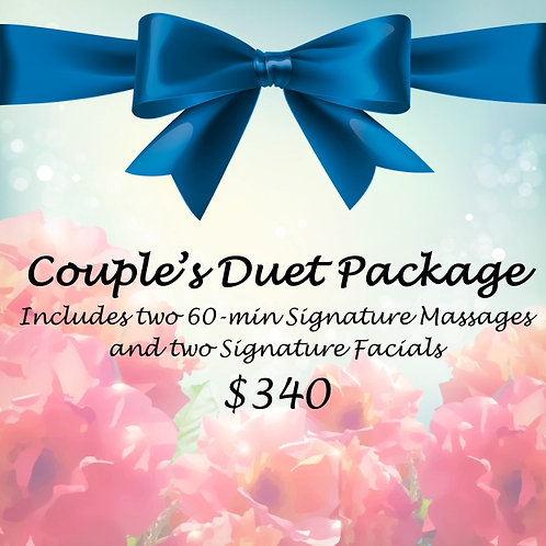 Couple's Duet Package