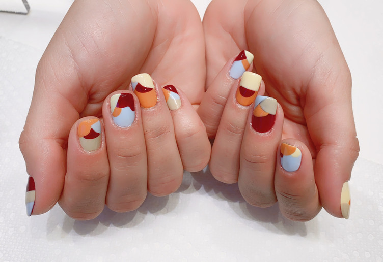 Modern Art Manicure