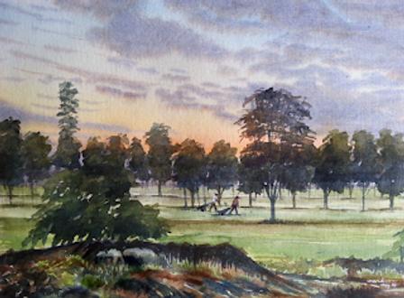 Dawn-Mysore Golf Course