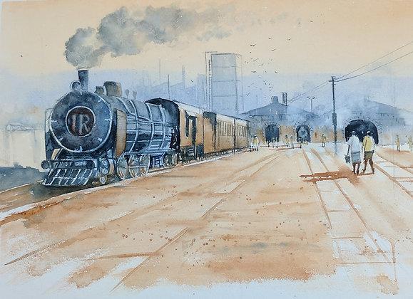 Vintage Railway Yard