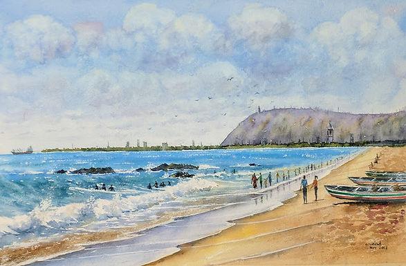 Vishakapatnam Beach 2