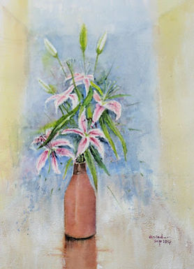 Pinktail lilies