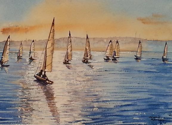 Scintillating Sails