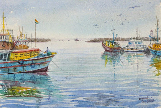 Vizag Harbour